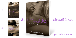 Book 3: Promise Me is available for pre-order